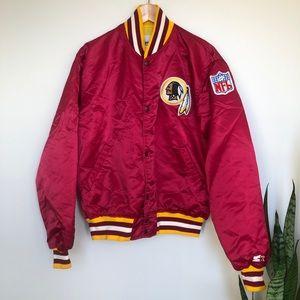 Vintage Starter Washington Redskins Bomber Jacket